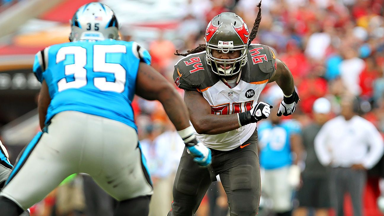 Falcons Re Sign Pass Rusher Adrian Clayborn For 2 Years 14 Million Espn With Images Raheem Morris Falcons Atlanta Falcons