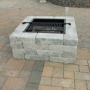 Pavestone Square Fire Pit Harken S Landscape Supply Garden Center East Windsor Ct Square Fire Pit Stone Fire Pit Fire Pit Landscaping