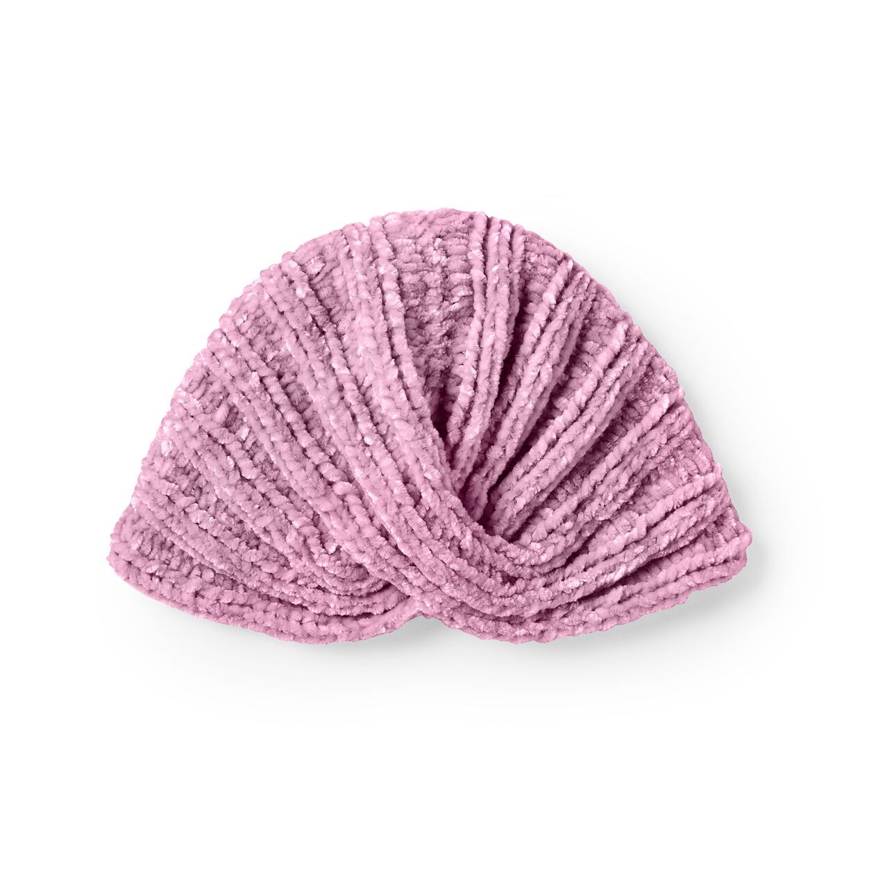 Bernat Knit Baby Turban, 6-12 mos. in color in 2020 | Baby ...