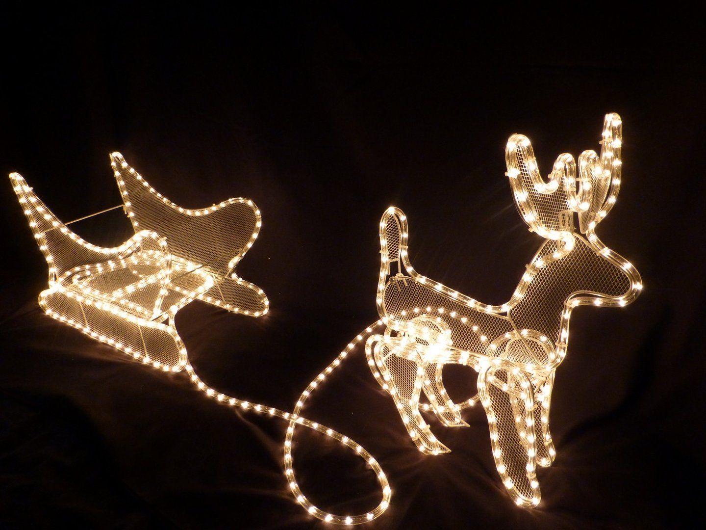 Cordon lumineux led blanc dcoration noel dcoration lumineuse cordon lumineux led blanc dcoration noel decoration noelreindeerhtml christmas mozeypictures Images