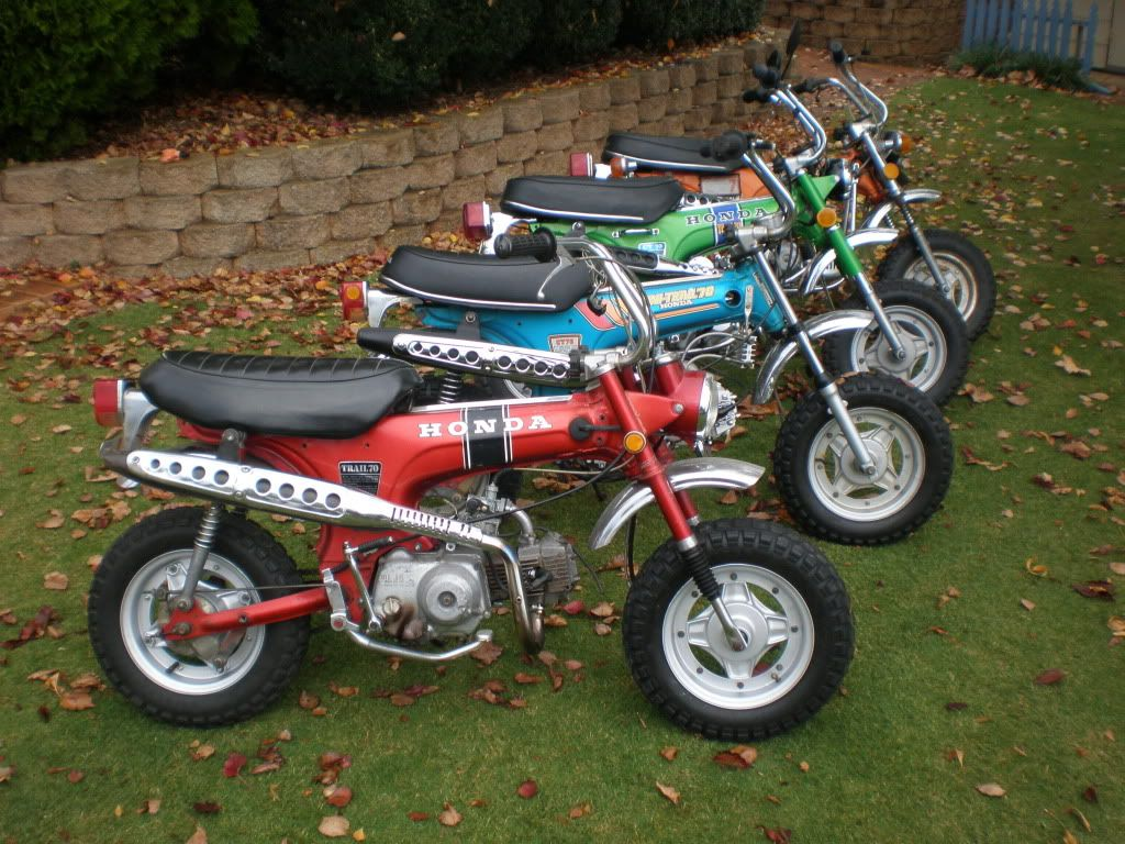 Classic Honda Mortorcycles Anyone Into Them Wonder Years Old Mini Bikes
