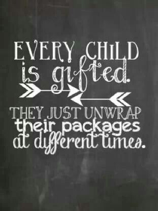 Children are gifted