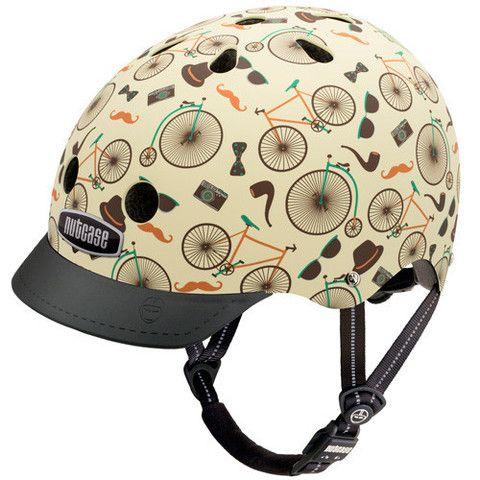 Vintage Velo Nutcase Canada Street Bike Helmets Helmet Cool