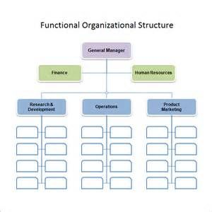 Organizational Chart Example Of Non Projected Visuals  Yahoo