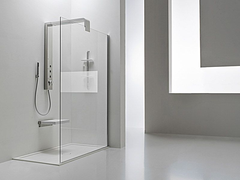 Find this Pin and more on Bathrooms. A new modern shower ...