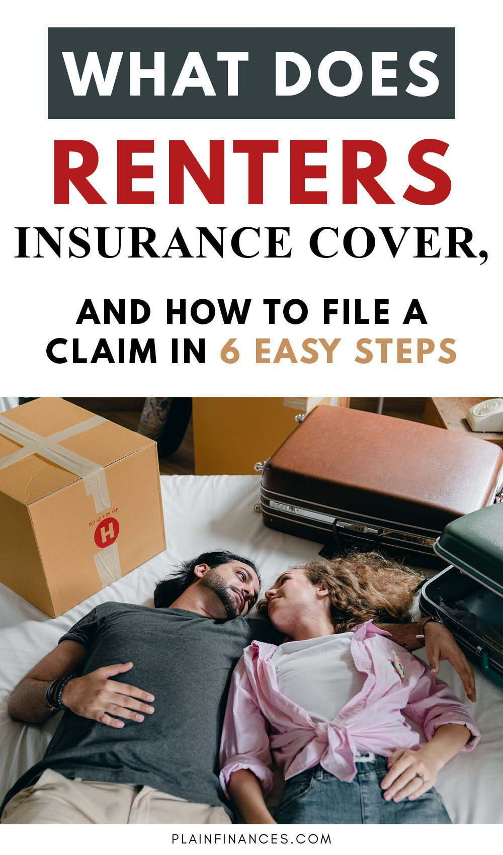 What Does Renters Insurance Cover, and How to File a Claim