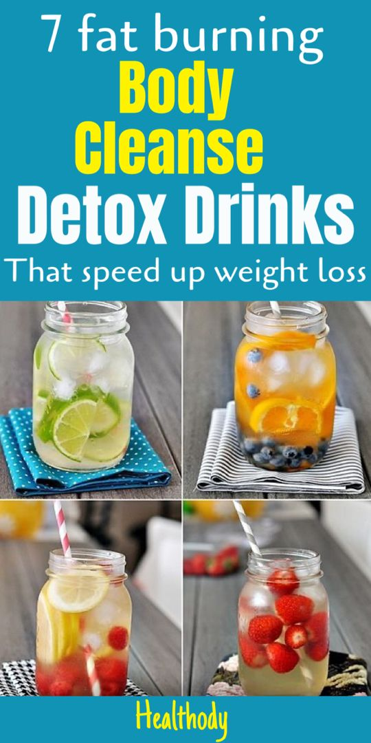Body cleanse drinks - 7 detox cleanse for weight loss