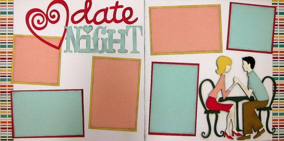 Date night 2 page 12x12 do it yourself scrapbook kit scrapbook date night 2 page 12x12 do it yourself scrapbook kit solutioingenieria Choice Image