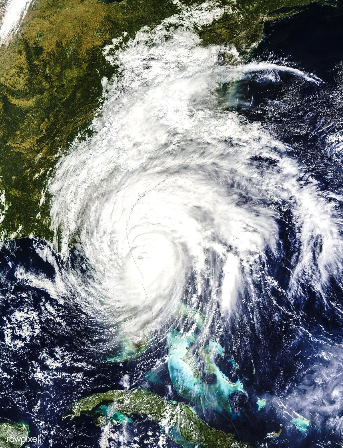 Hurricane Matthew This Is A Visible Image Of Major Hurricane Matthew Taken From Nasa S Terra Satellite On Oct 7 Hurricane Hurricane Matthew Earth From Space