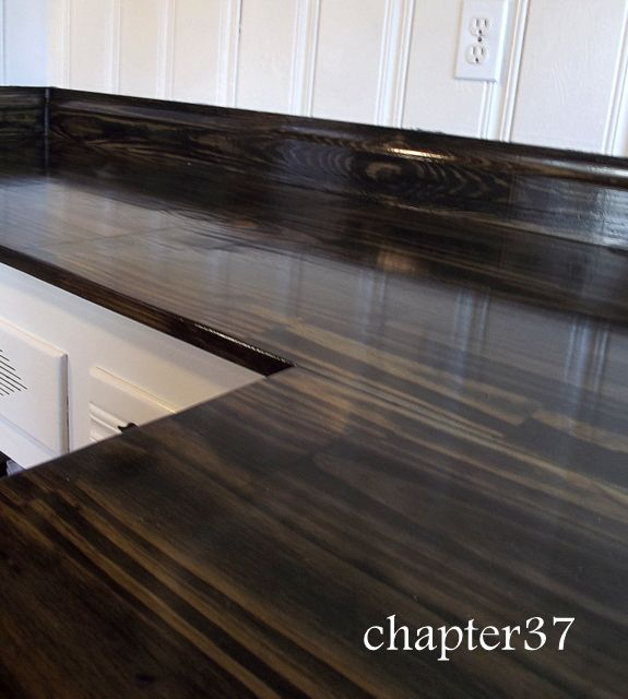 Delicieux DIY Wood Counter Tops