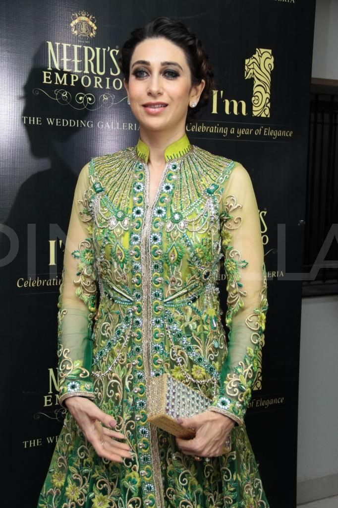 Karisma Kapoor attends Neerus Emporio first anniversary event