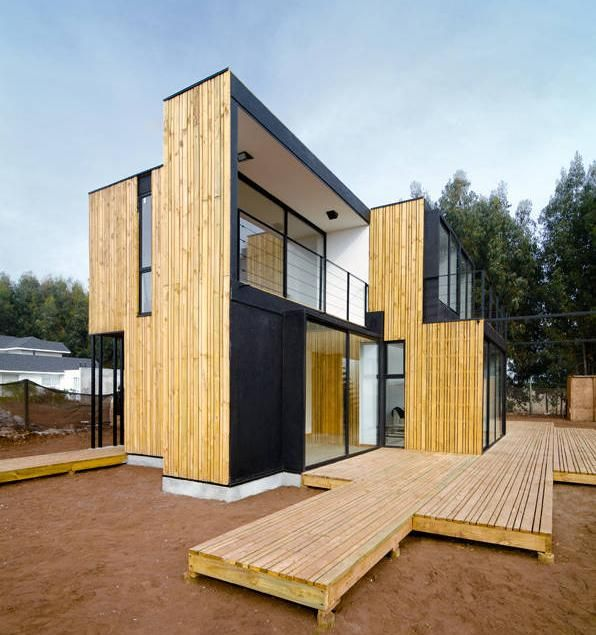 charming sip prefabricated homes #4: Prefab SIP panel house: Modern Prefab Modular Homes - Prefabium