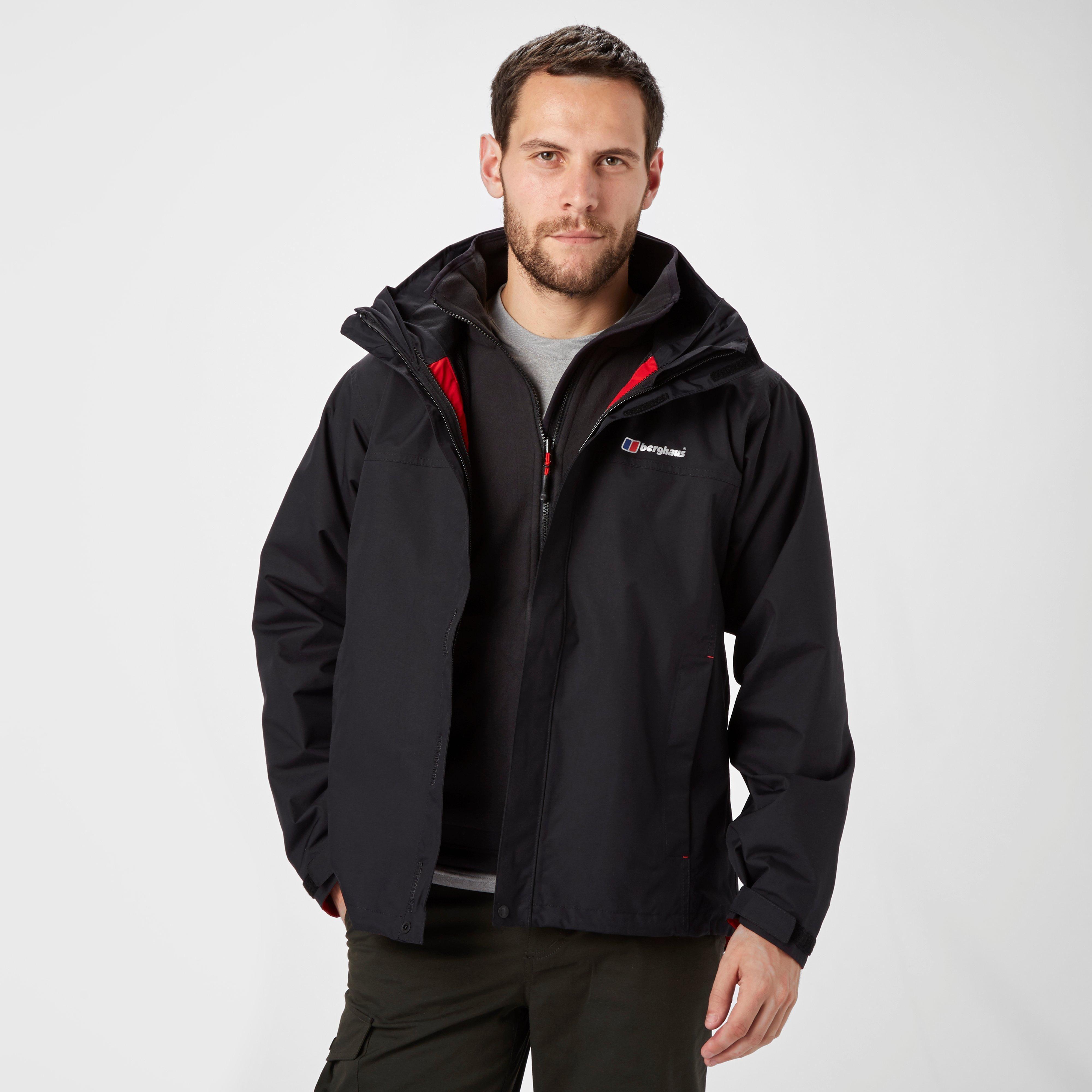 exclusive range official site in stock Berghaus Men's RG Delta 3 in 1 AQ2 Jacket, Black ...