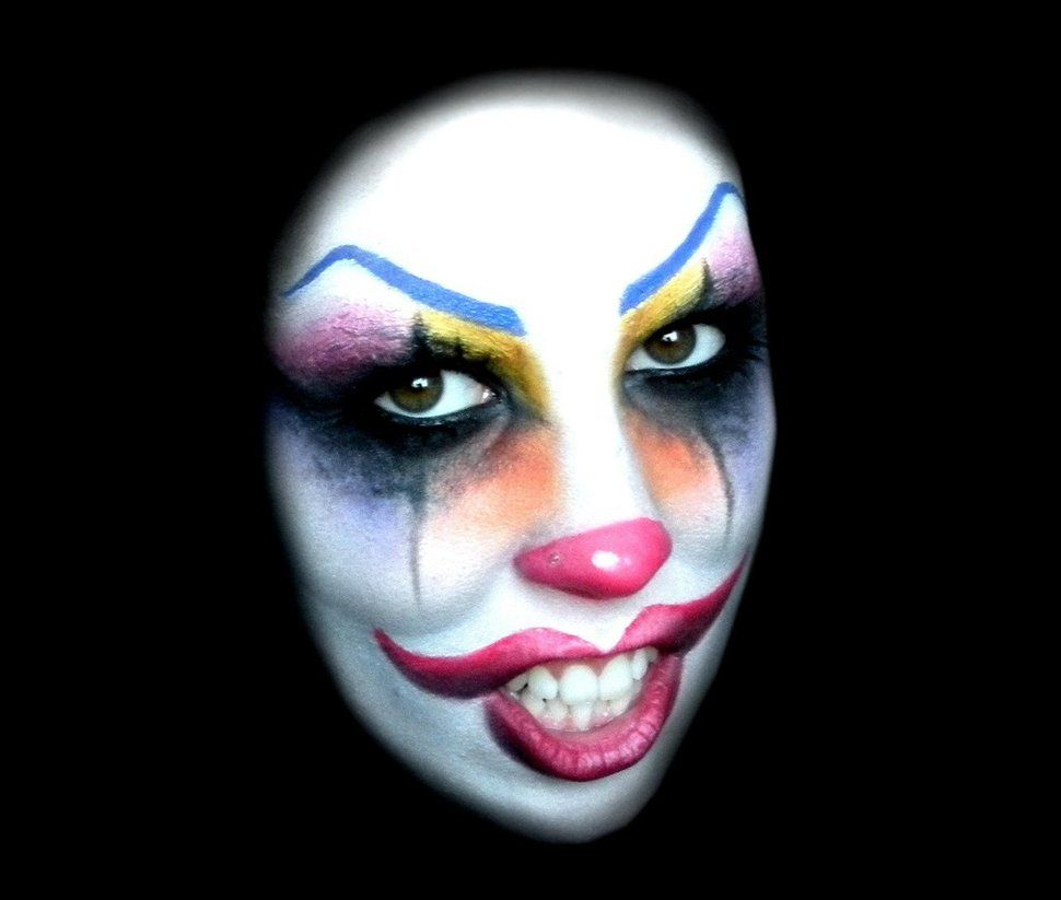 Happy clown Makeup idea for halloween by AleMeller13 | A ...