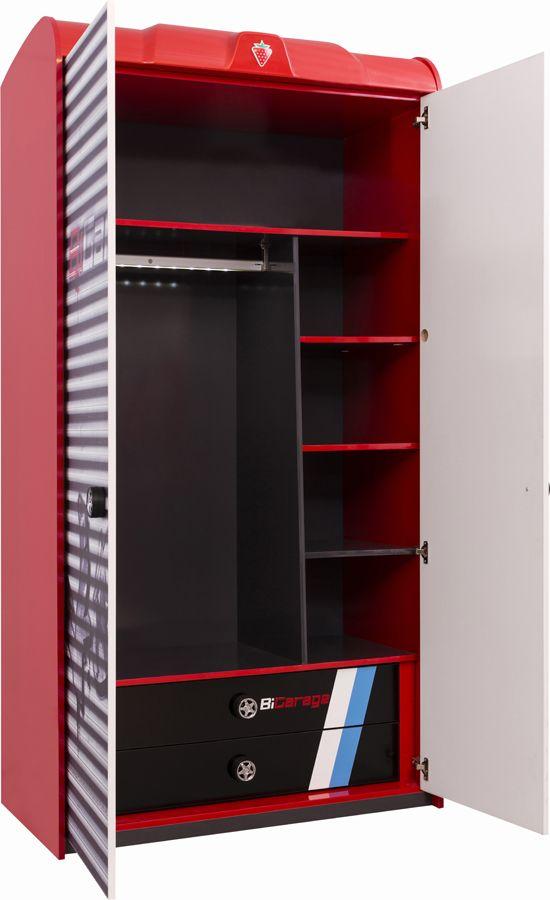 Cilek Champion Racer Kleiderschrank Ii Locker Storage Storage Lockers