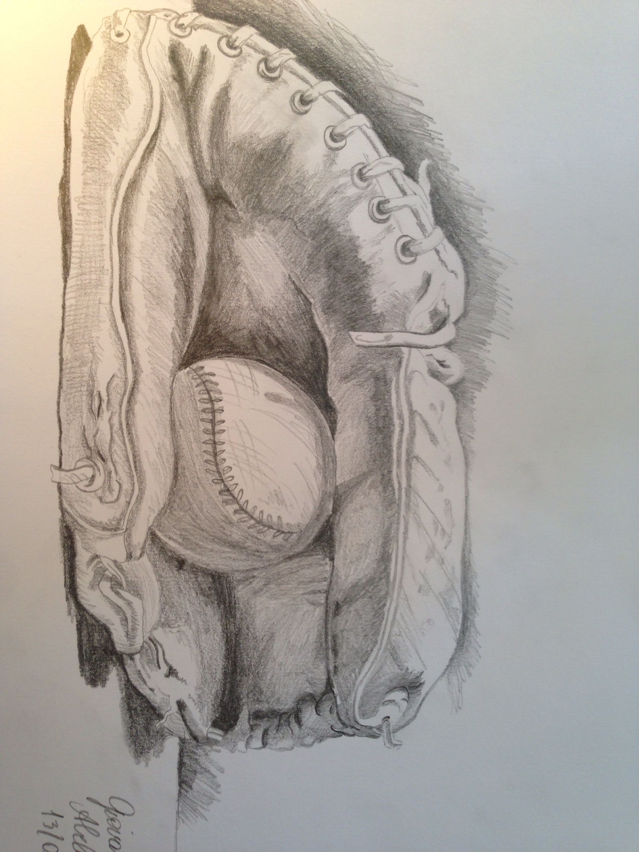 Baseball drawing