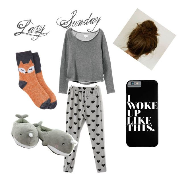 """Lazy Sunday"" by lindseycoms on Polyvore"