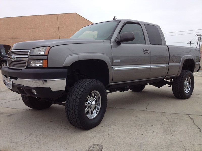 2006 6 6l duramax chevy 2500hd crew cab short bed 4wd. Black Bedroom Furniture Sets. Home Design Ideas
