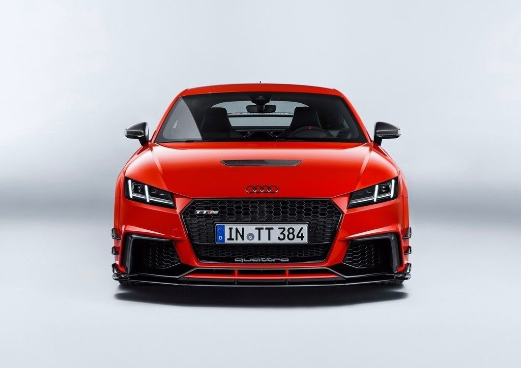 Audi Tt Front View Red Luxury Car Wallpaper