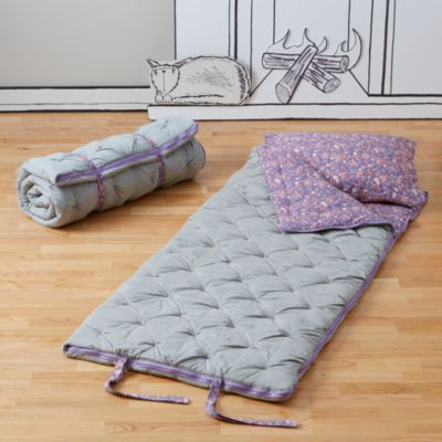 Like the flower bed in your yard, our Flower Bed Sleeping Bag features a naturally gorgeous array of colors and patterns. Unlike your garden, it's made of soft cotton jersey, making it both comfy to sleep in and easy to care for. Best of all, you can personalize the pillowcase with a kid's name. #NodWishlistSweeps
