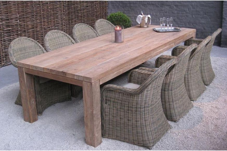 Table De Jardin In 2020 Outdoor Furniture Sets Outdoor Furniture Dining Table