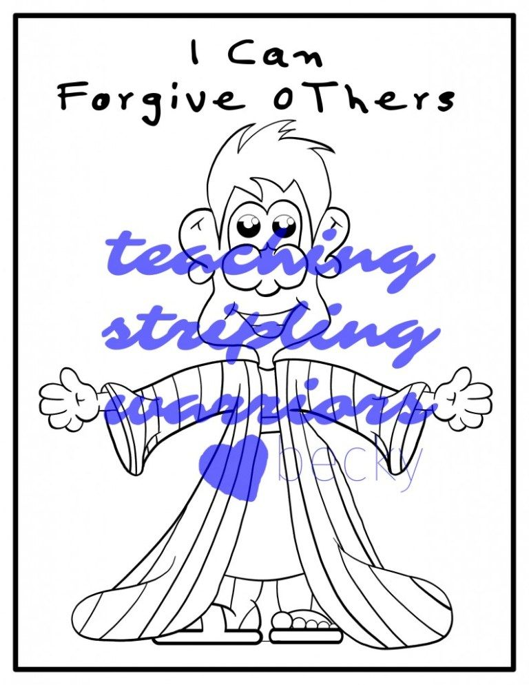 Lesson 30 I Can Forgive Others Forgiveness Stripling Warriors