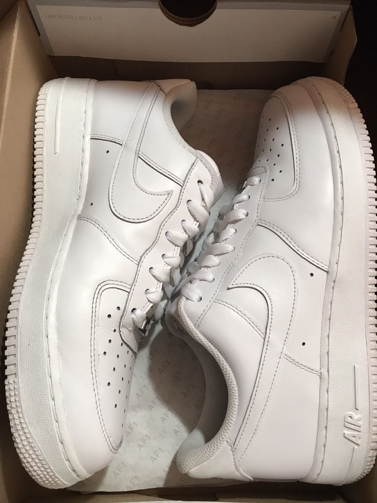 Nike Air Force 1 Low White Jordan Retro