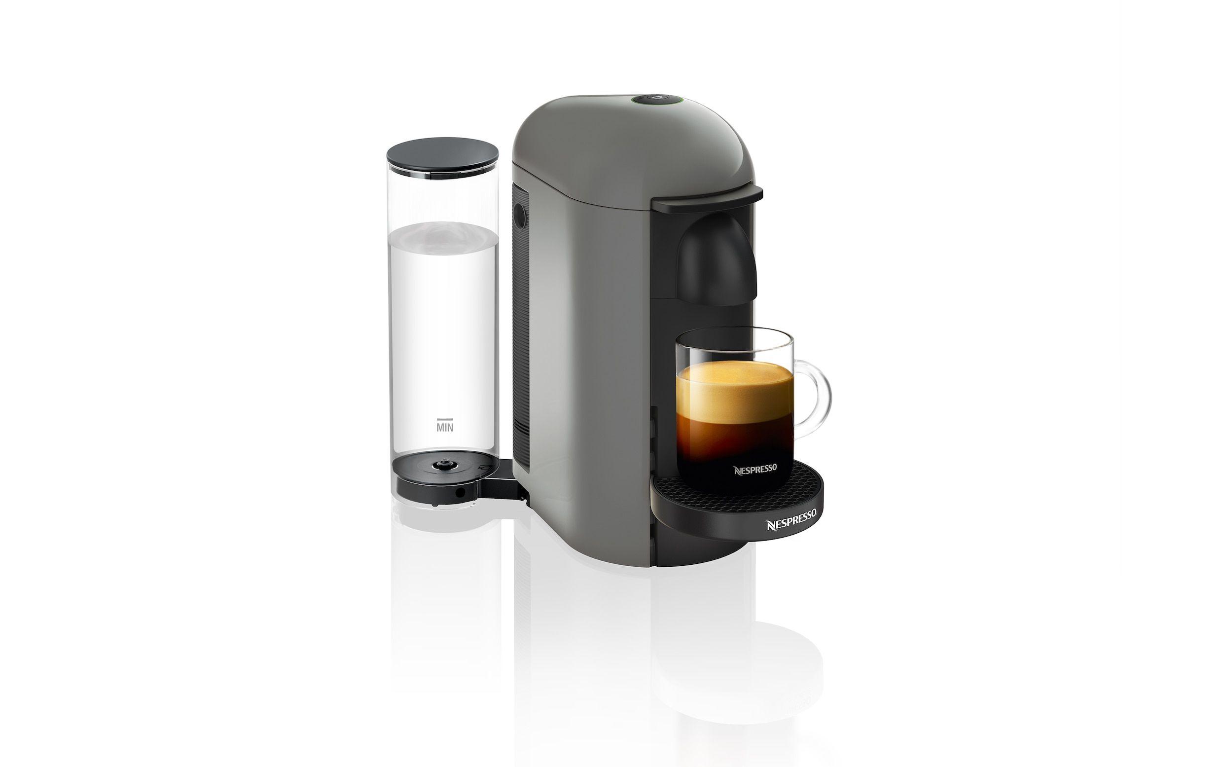 VertuoPlus Grey New Vertuo Espresso Machine Nespresso