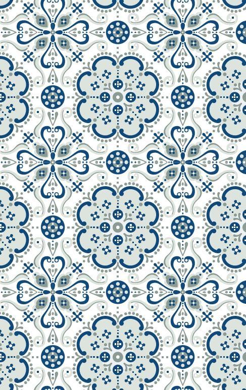 Folksy Wallpaper, Cushion design, Designer wallpaper