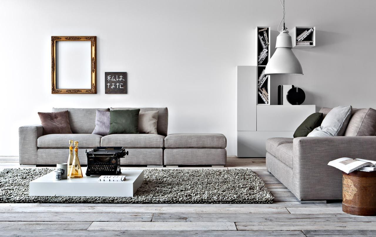 Our life in grey | Living room suite, Home living room ...
