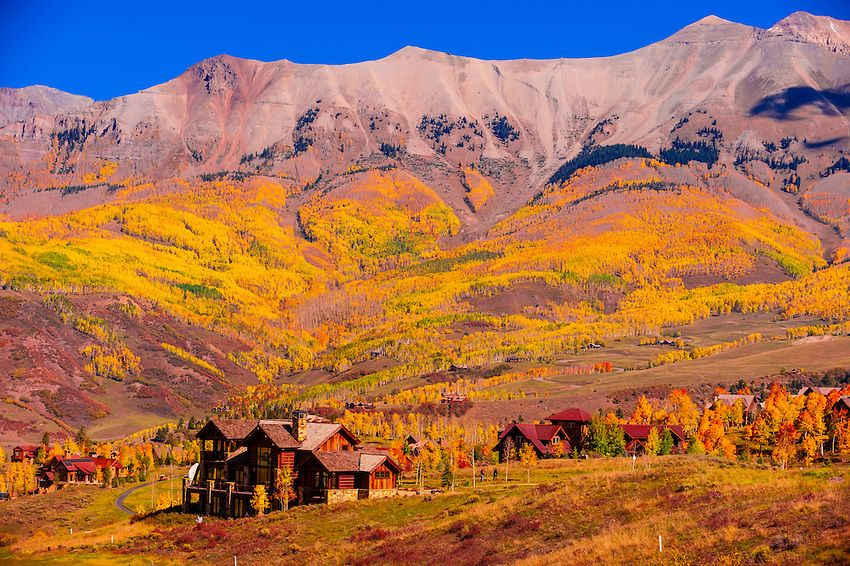 Telluride Mountain Village Telluride Colorado Usa With Images