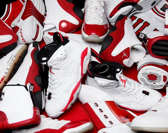 Air Jordan White/Red Showcase | KicksOnFire