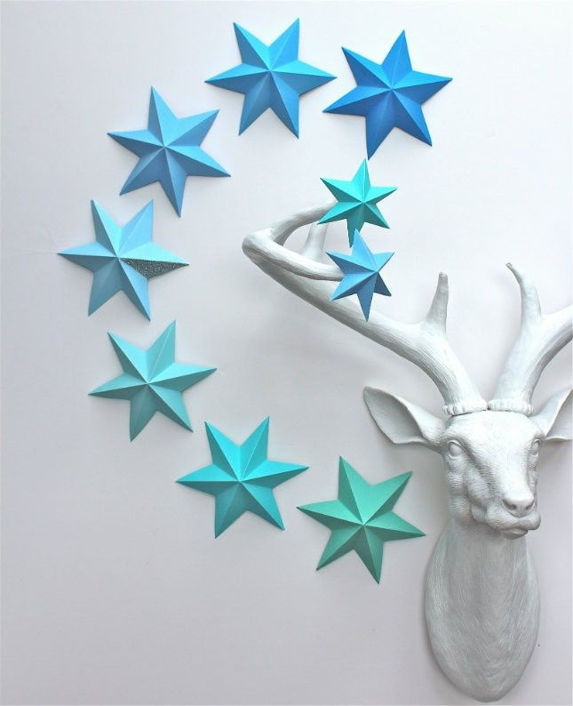 13 DIY Paper Ornaments That Are Cheap to Make via Brit + Co