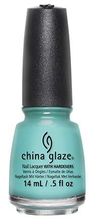 China Glaze is a professional-level nail enamel made with a special balance of polymers and resins that combine to create a nail lacquer that is long lasting, chip-resistant and resistant to color and