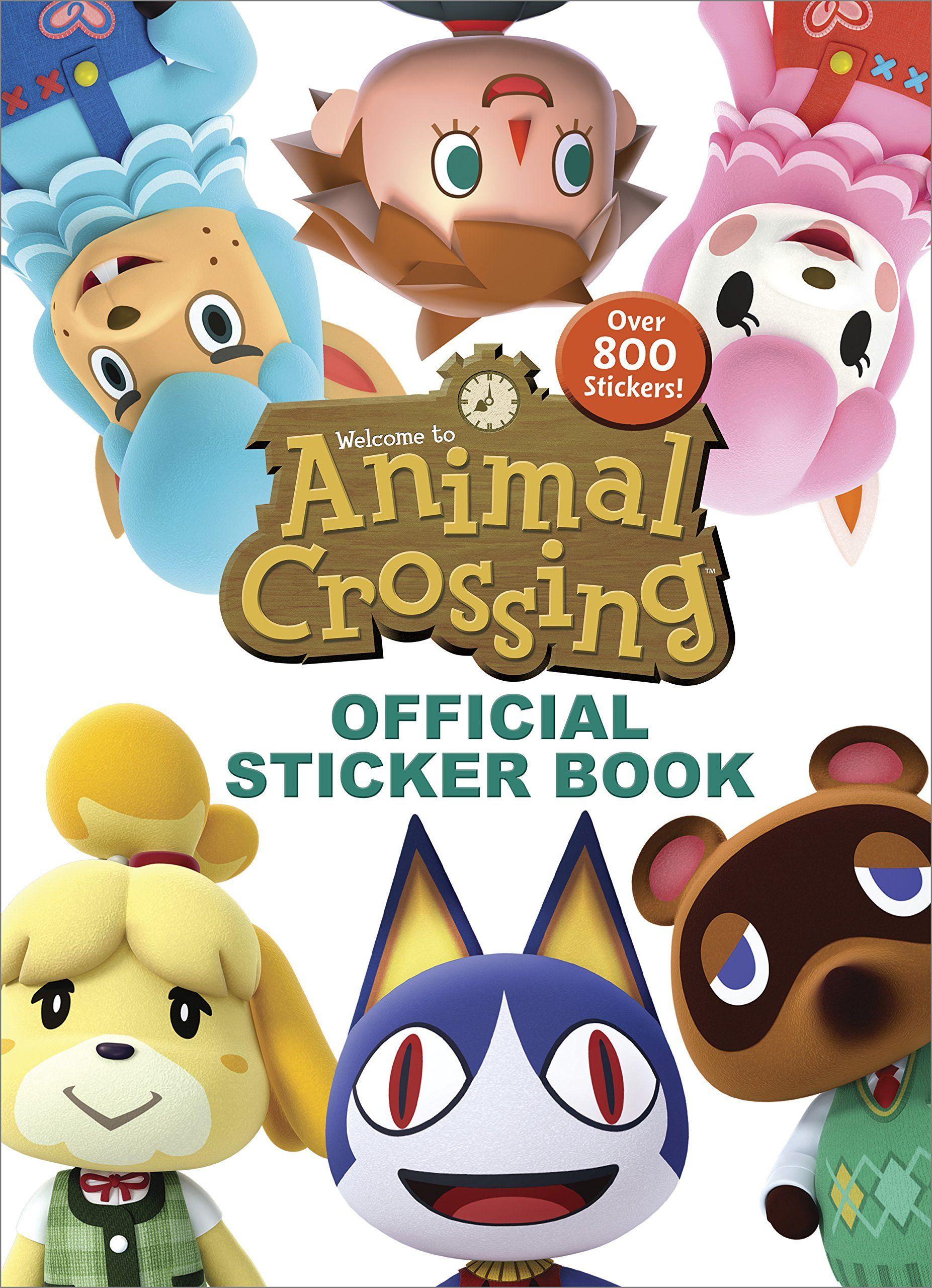Animal Crossing Official Sticker Book (Nintendo) Paperback
