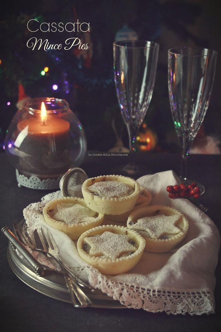 Cassata Mince Pies pour un Noël de fusion!   - La ricetta della felicità : my blog -
