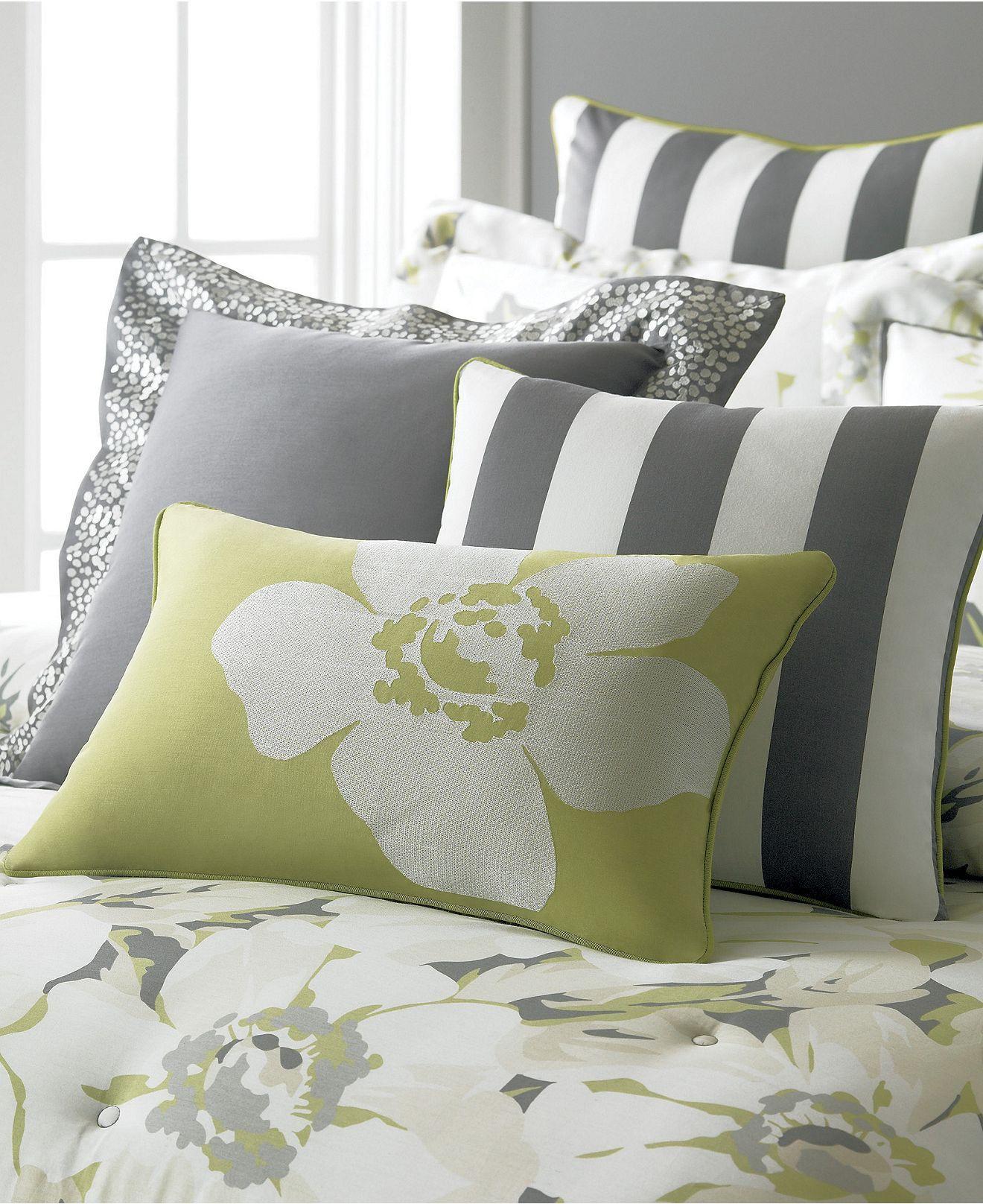 Martha Stewart Collection Bedding Sunshine Poppy 6 Piece