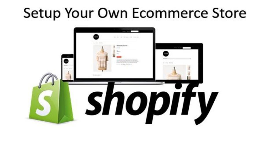 Create Your Ecommerce Website With Shopify Build A Beautiful