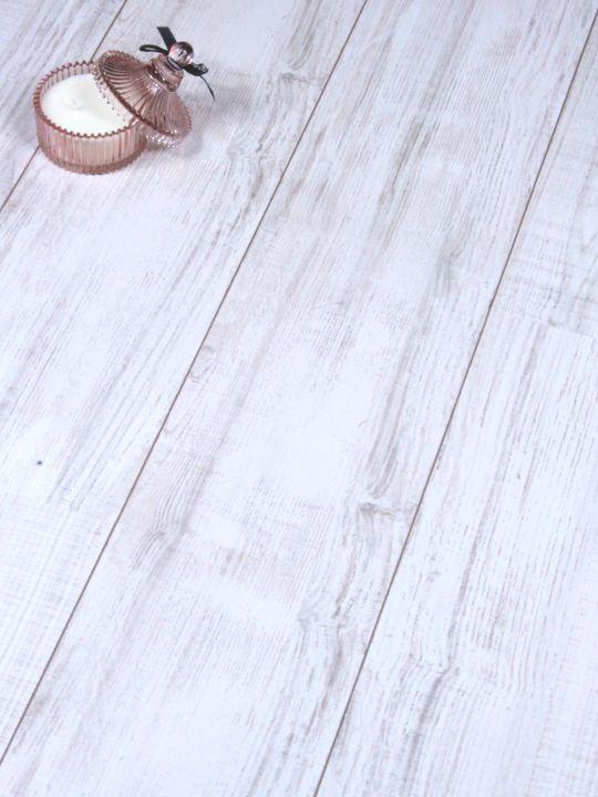 8mm AC4 Egger Cottage Oak White Click Laminate Flooring V Groove 8mm