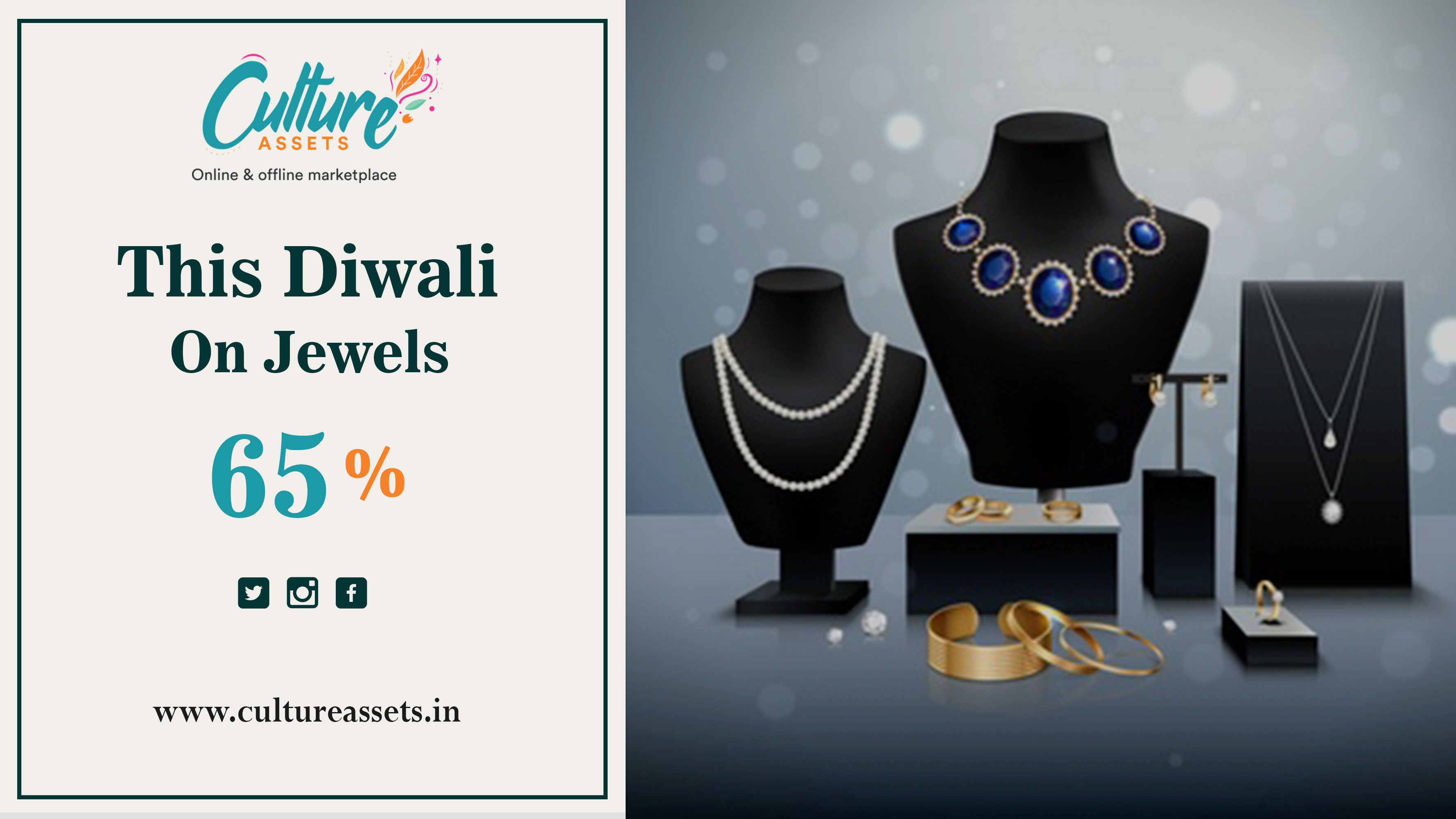 Indian Fashion Jewellery at its best price by Culture Assets. Diwali Offer ,get upto 65% off on ethnic jewellery. Offer coming soon ,Stay Tuned! • • • #jewelry #ethnicjewellery #fashion #ethnicwear #traditional #indianwear #onlineshopping #style #womenfashion #fashion #style #womenstyle #ethnicwear #fashion #indianwear #saree #ethnic #onlineshopping #indianfashion #indianwedding #instafashion #traditional #tiktok #Tiktokclone #videosharingapp #livestreaming #ecommerce