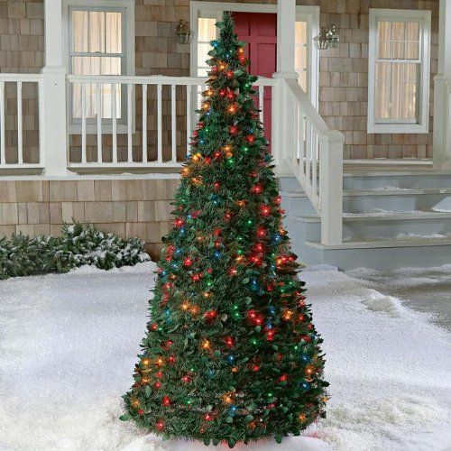 Electric Pre Lit Pull Up Christmas Tree Pull Up Christmas Tree Christmas Decorations Christmas Tree
