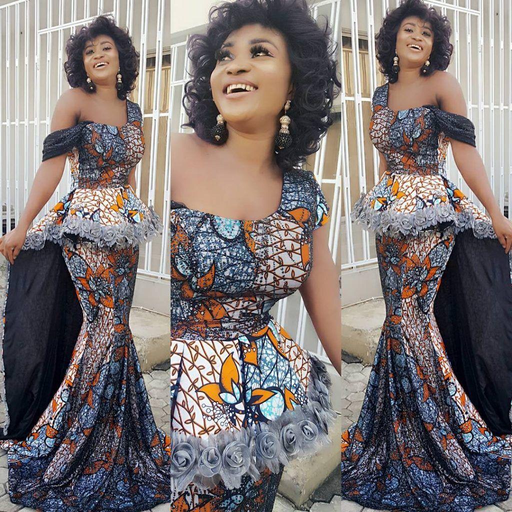 2017 05 aso ebi fashion styles nigeria wedding event fashion - New Latest Ankara Styles 2017 Ankara Fashion Ankara Dress Ankara Tops Jumpsuits Asoebi Styles Nigeria Owambe