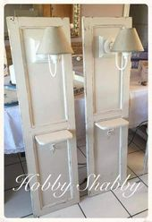 Photo of #ante #applique #Chic #Bedside tables #wood #Shabby