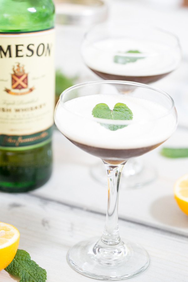 Drunken Leprechaun - An Irish Whiskey Cocktail