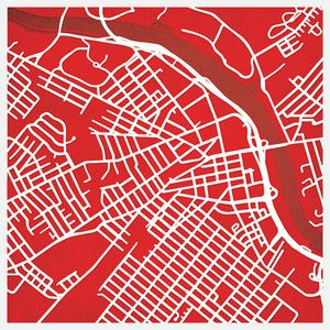 Rutgers Print now featured on Fab.
