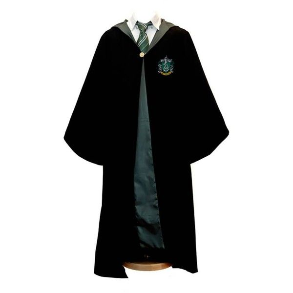 Slytherin Robes ❤ liked on Polyvore featuring intimates, robes ...