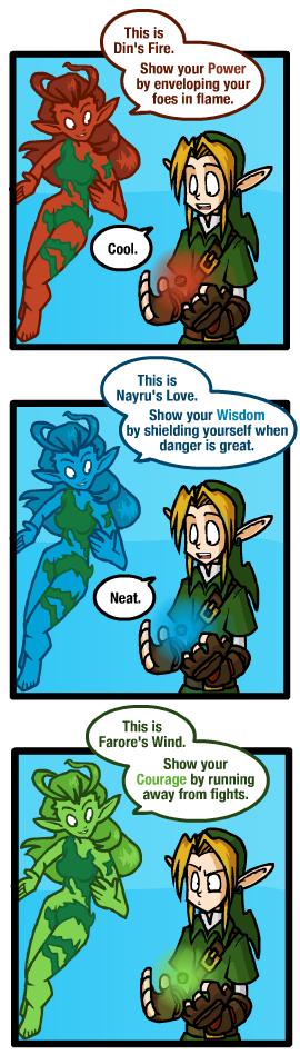 "The Legend of Zelda ""Show your Courage"""