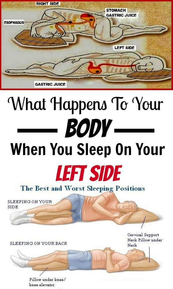 Try Sleeping On Your Left Side And This Will Happen To Your Body Comfortable Sleeping Positions Positivity When You Sleep