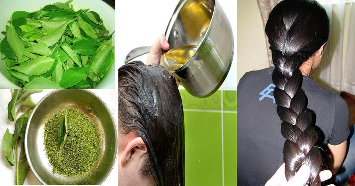 Simple Herbal Hair Growth Oil For Healthy, Thick And Long Hair via @dailyhealthpost