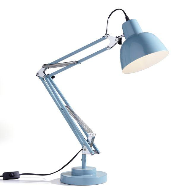 Lampe de bureau isaac bleu our next house pinterest lampe de bureau castorama et lampes - Lampe de bureau castorama ...